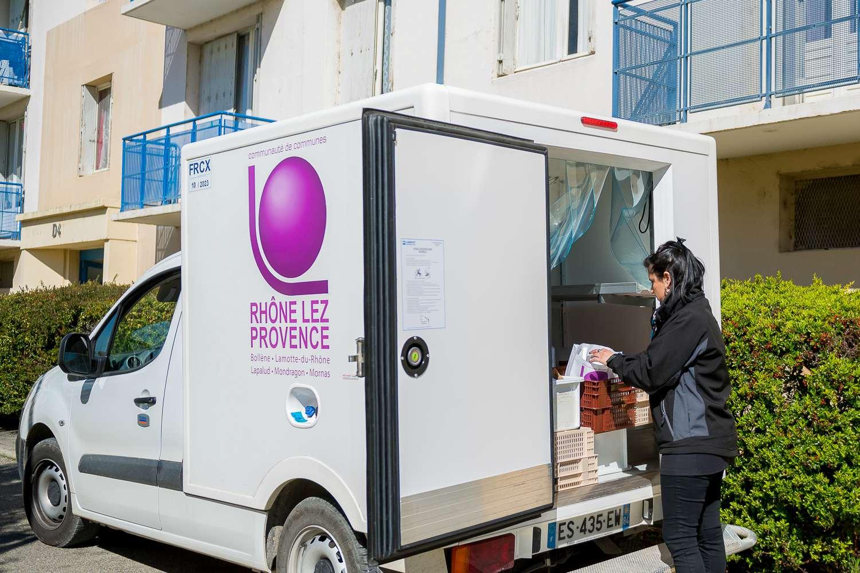 portage repas Rhône Lez Provence