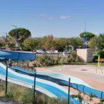 Réaménagement du parking de l'espace aquatique de Bollène