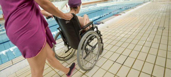 Accessibilité piscine