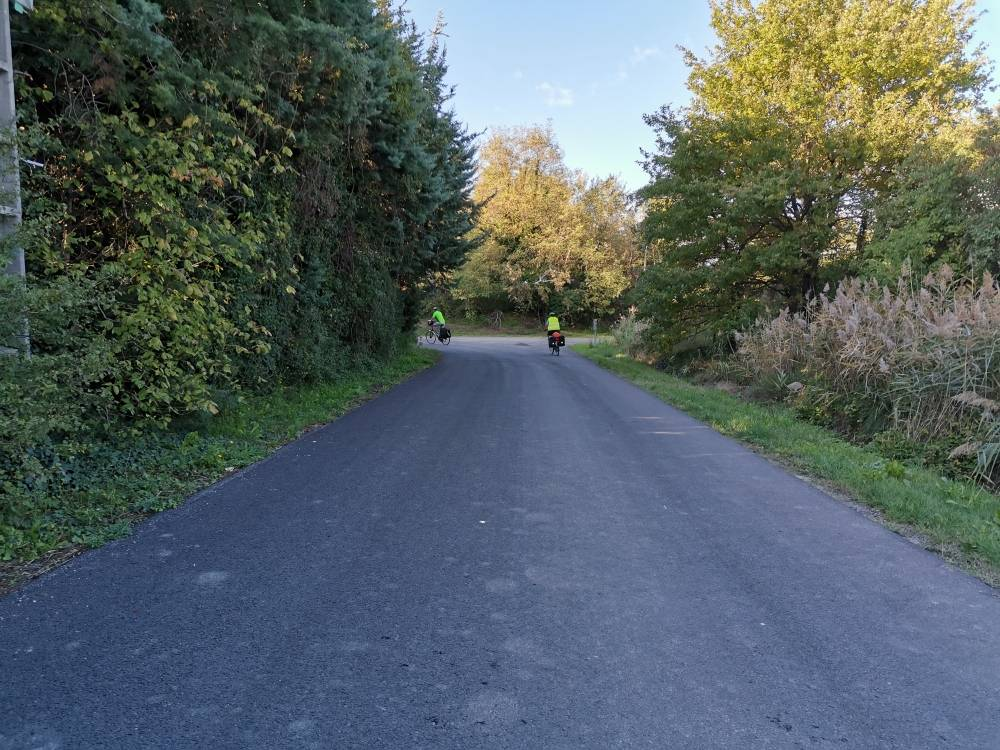Travaux piste cyclable