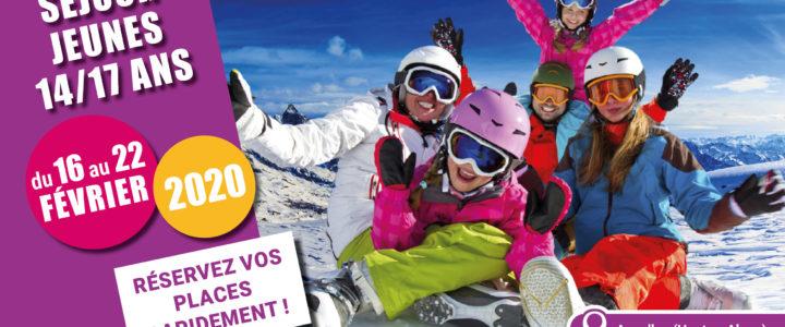 Séjour Hiver 2020 – Les 14/17ans à la montagne !