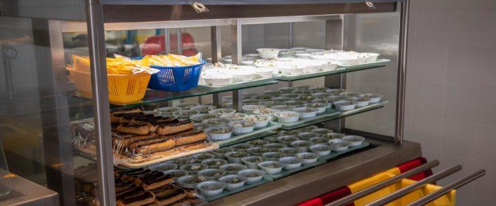 Le restaurant scolaire de l'école Alexandre Blanc se transforme en self