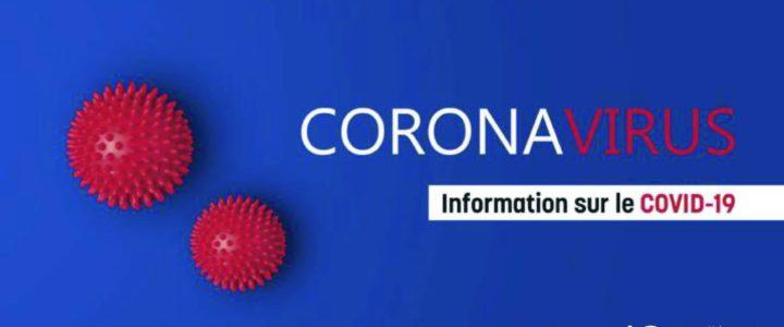 25 mars 2020 / Mise à jour / Vos services face à l'épidémie coronavirus COVID-19