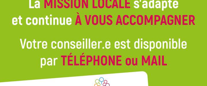 La mission locale du Haut Vaucluse vous informe !