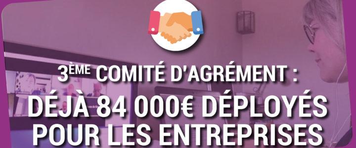 FONDS INTERCOMMUNAL DE SOLIDARITÉ : DÉJÀ PRÈS DE 84 000 € POUR LES ENTREPRISES DU TERRITOIRE