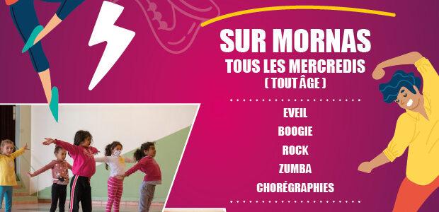 Découvrez les ateliers danse !