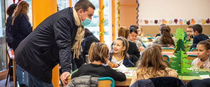 Repas de Noël dans les écoles du territoire