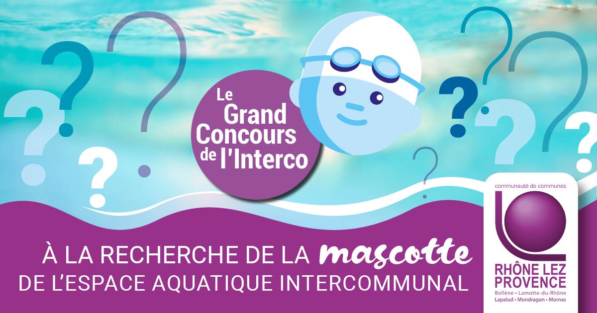 Votez pour la future mascotte de l'espace aquatique
