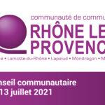 Séance du Conseil communautaire du 13 juillet 2021