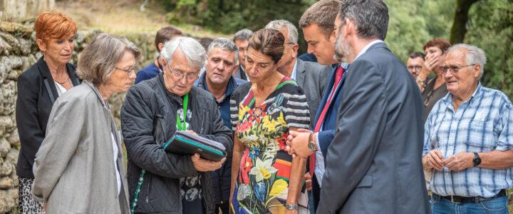 Retour en images sur la visite de la Présidente du Conseil départemental de Vaucluse, Dominique Santoni
