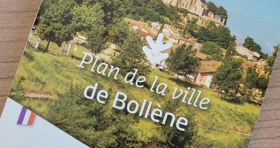 Le nouveau plan de la ville de Bollène est arrivé !