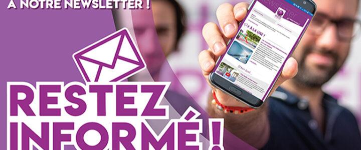 Abonnez-vous à la newsletter de l'interco