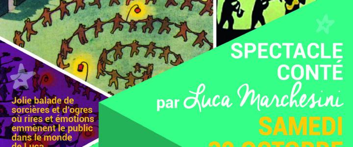 Spectacle conté «La Danse des sorcières» – samedi 30 octobre à 10h30